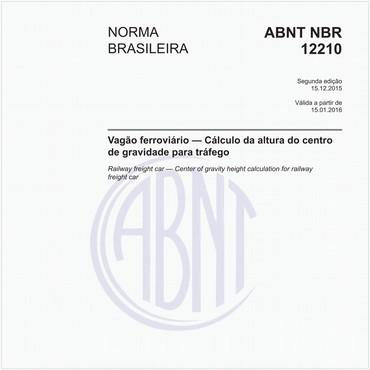 NBR12210 de 12/2015