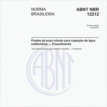 NBR12212 de 09/2017