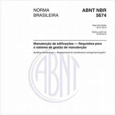 NBR5674 de 07/2012