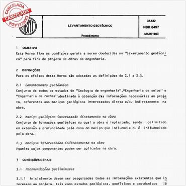 NBR6497 de 03/1983