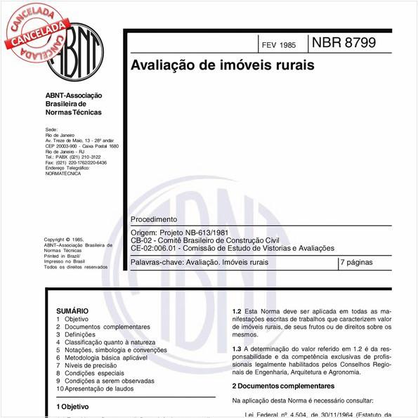 NBR8799 de 05/2004