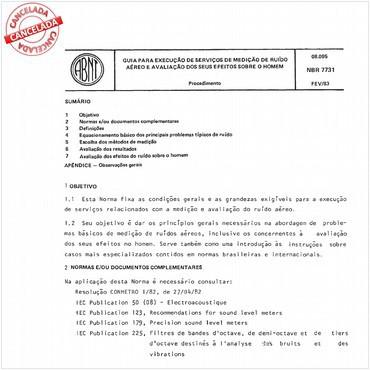 NBR7731 de 02/1983