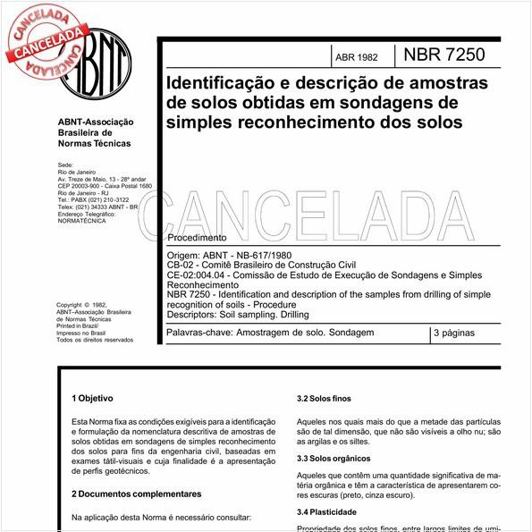 NBR7250 de 02/2001