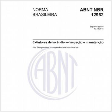 NBR12962 de 12/2016