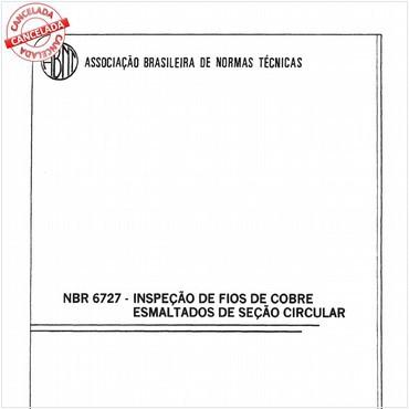 NBR6727 de 07/1981