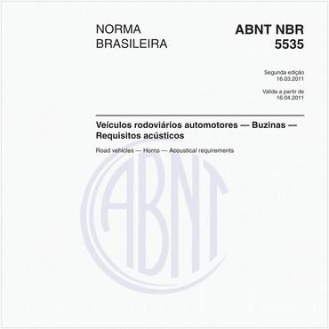 NBR5535 de 03/2011