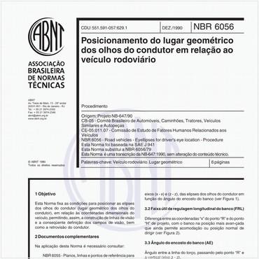 NBR6056 de 12/1990