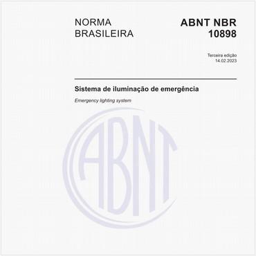 NBR10898 de 03/2013
