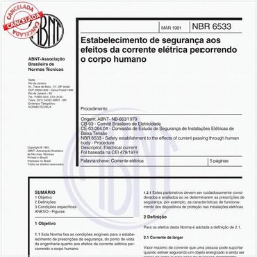 NBR6533 de 03/1981