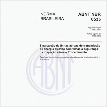 NBR6535 de 07/2005