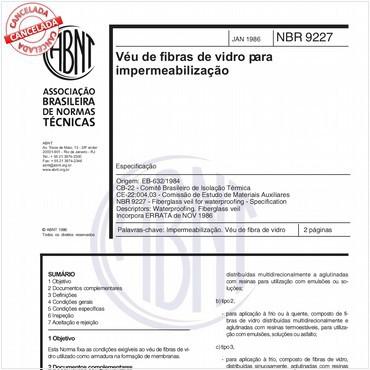 NBR9227 de 01/1986