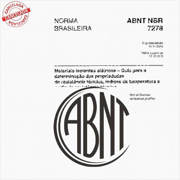 NBR7278 de 01/2019
