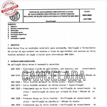 NBR6600 de 10/1985