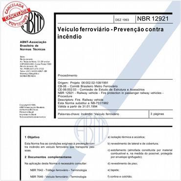 NBR12921 de 12/1993