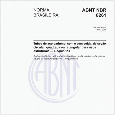 NBR8261 de 03/2019