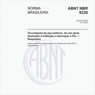 NBR6330 de 07/2020
