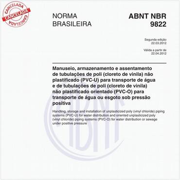 NBR9822 de 03/2012