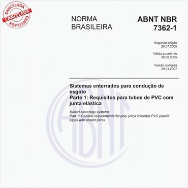 NBR7362-1 de 07/2005