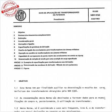 NBR8153 de 08/1983