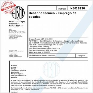 NBR8196 de 12/1999