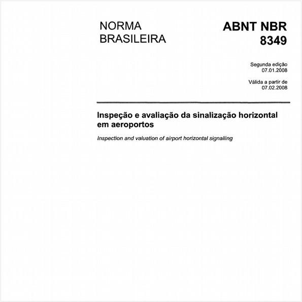 Inspeção e avaliação de sinalização horizontal em aeroportos