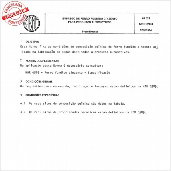 NBR8391 de 12/2015