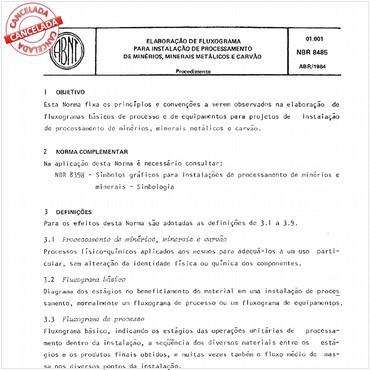 NBR8485 de 04/1984