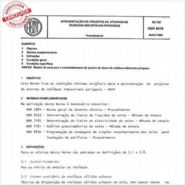 NBR8418 de 12/1983