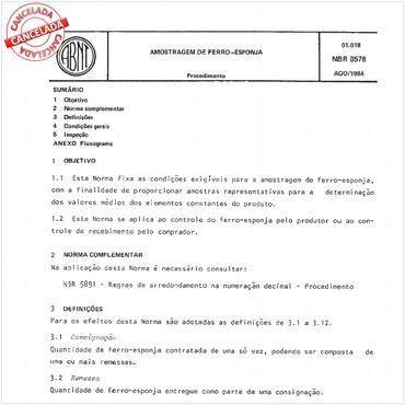 NBR8578 de 08/1984