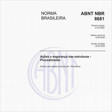 NBR8681 de 03/2003