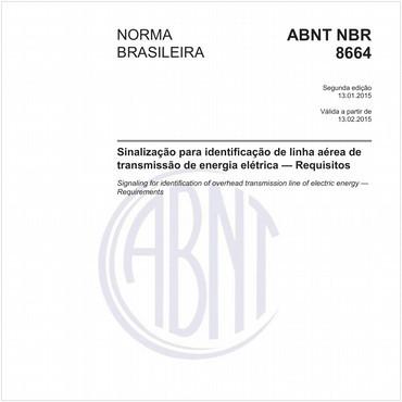 NBR8664 de 01/2015