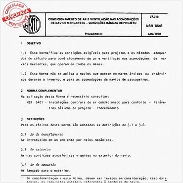 NBR8646 de 01/1990