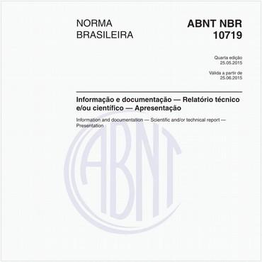 NBR10719 de 05/2015