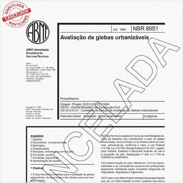 NBR8951 de 07/1985