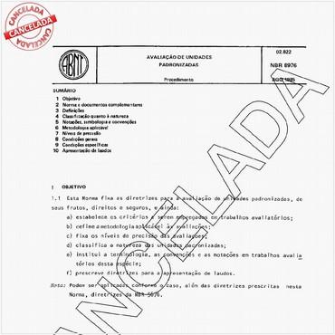 NBR8976 de 08/1985