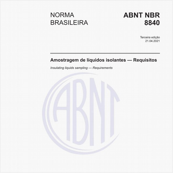 NBR8840 de 10/2013