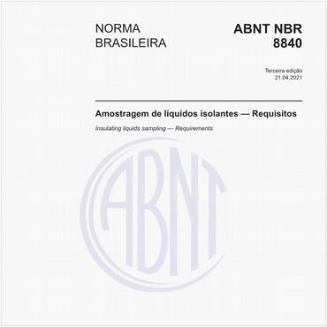 NBR8840 de 04/2021