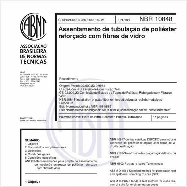 NBR10848 de 06/1988