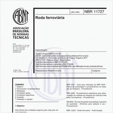 NBR11727 de 01/1992
