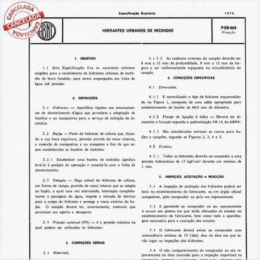 NBR5667 de 11/1980