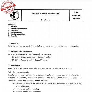 NBR9288 de 03/1986