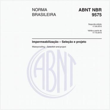 NBR9575 de 09/2010
