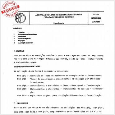 NBR9380 de 06/1986