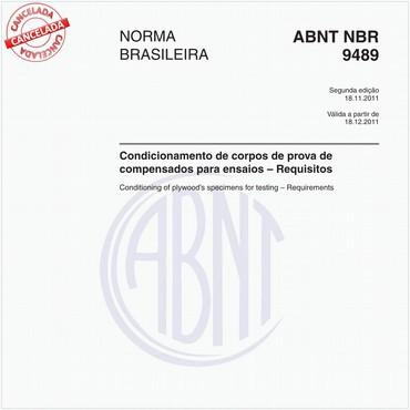 NBR9489 de 11/2011