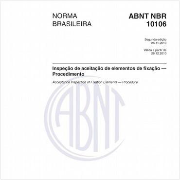 NBR10106 de 11/2010