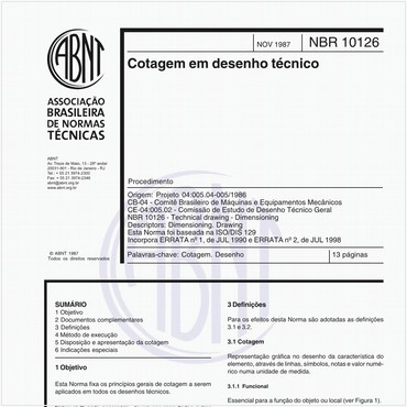 NBR10126 de 11/1987