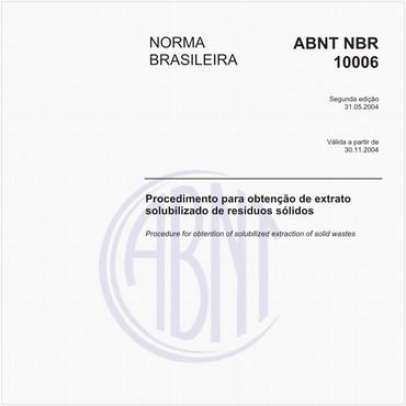 NBR10006 de 05/2004