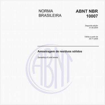 NBR10007 de 05/2004