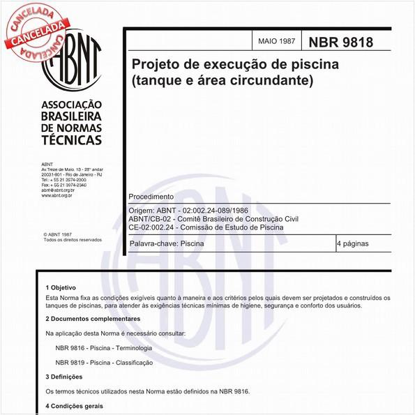 NBR9818 de 09/2018