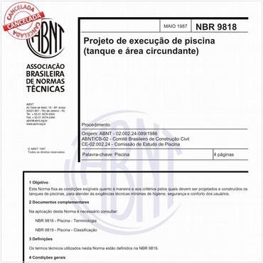NBR9818 de 05/1987